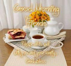Good Morning.......