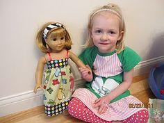 American doll dress tutorial