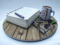 Fabulous note book cake