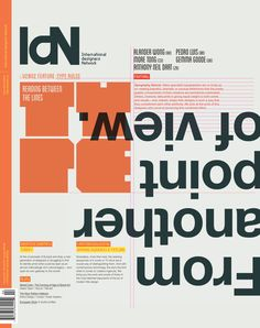 IdN v20n2: Typography Special by IdN Magazine, via Behance