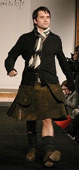 "Alastair Mackenzie (Monarch of the Glen's ""Archie Macdonald"") Party Pictures 4/9/04 - Dressed to Kilt"