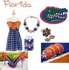 Designer Clothes, Shoes & Bags for Women Florida Gators Game, Gator Game, Ashley Thompson, Dream School, Shoe Bag, Games, Polyvore, Life, Design