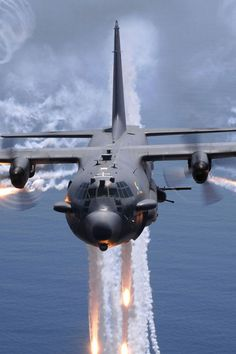 The AC-130 Gunship: An Aircraft With Intimidating Weapons