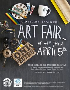 Starbucks Flyer by Lance Flores