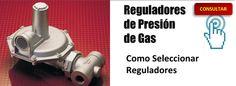 Como seleccionar reguladores de presión de gas, ejemplos y gráficas en videos