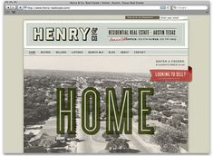 Henry & Co. Real Estate via Design Work Life