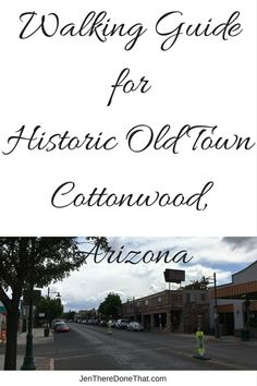 Walking Guide of Historic Old Town Cottonwood, Arizona Cottonwood, Arizona USA Cottonwood is part of Arizona Road Trip, Arizona Travel, Arizona Usa, Sedona Arizona, Visit Arizona, Cottonwood Arizona, Sedona Hikes, Wine Tasting Room, Vacation Spots