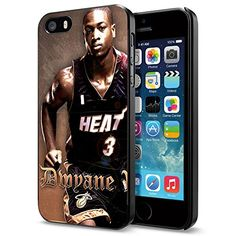 Basketball NBA Dwyane Wade 3 Miami Heat , Cool iPhone 5 5s Smartphone Case Cover Collector iphone Black Phoneaholic http://www.amazon.com/dp/B00UUR67U0/ref=cm_sw_r_pi_dp_683nvb0WTVHB9