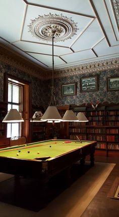 Billiards room - Martindale Hall - Mintaro