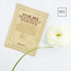 "BENTON Snail Bee High Content Mask £2.50 | ""This sheetmask is drenched in essence but feels incredibly lightweight on the skin. This is a mask I use when I need to reduce any redness in my face or calm down any blemishes."" 