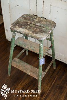 Miss Mustard Seed stool