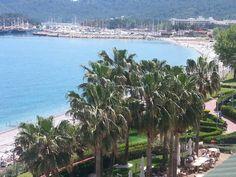 Bliuck auf Strand und Hafen - Hotel Golden Lotus