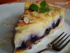 Fantastický broskyňovo-čučoriedkový koláč (fotorecept)