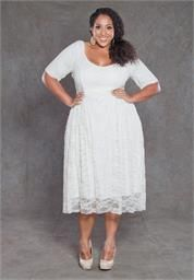 Plus Size Kara Lace Dress