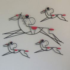 At The Races Wall Art, $477, now featured on Fab.