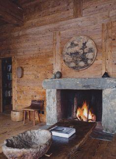 Northeast Locavore: Axel Vervoordt's farmhouse in Verbier, Switzerland
