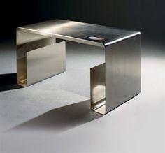 Maria Pergay Steel Table