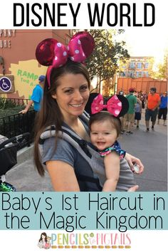 I'm sharing tips on how to have your baby's first haircut at Harmony Barber Shop located on Main Street in Disney World's Magic Kingdom park! This little known secret is the perfect way to make memories to last a lifetime on a budget! #disneyworldtips #harmonybarbershop #disneysecret #magickingdom #mainstreet