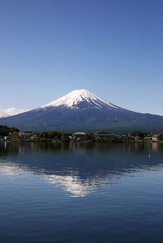 Mt. Fuji at Lake Fujikawaguchiko