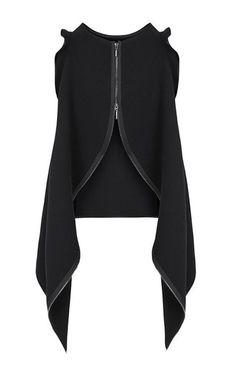 Objectify Zipper Tank by Maticevski for Preorder on Moda Operandi - Herren- und Damenmode - Kleidung Look Fashion, Fashion Details, Girl Fashion, Fashion Dresses, Womens Fashion, Fashion Design, Fashion Trends, Fashion Lookbook, Patron Vintage