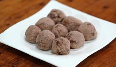 Isowhey Protein Chocolate Nut Balls | Good Chef Bad Chef