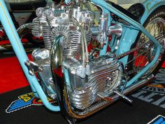 OldMotoDude: Triumph Chopper on display at the 2014 International Motorcycle Show -- Seattle Triumph Chopper, Triumph Bikes, Bobber Chopper, Triumph Motorcycles For Sale, British Motorcycles, Vintage Motorcycles, Motorcycle Engine, Bike Art, Aussies