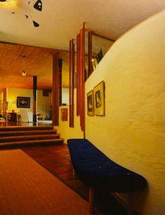 Villa Mairea Living Room | Noormarkku, Finland | 1938 | Alvar Aalto