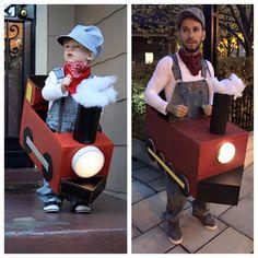 Train Conductor Halloween Costume #pinterest #DIY #halloween #costume…