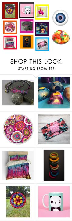"""""""Eye Candy Collection"""" by fivefoot1designs ❤ liked on Polyvore featuring interior, interiors, interior design, home, home decor, interior decorating, etsy and etsygifts"""