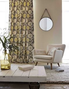Anneke is a fun floral trail featuring three different flower-heads. From Scion's Levande collection.