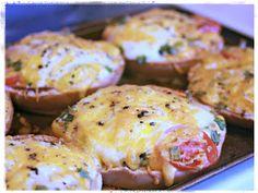 Kitchen Comments: Breakfast Bagel Pizza