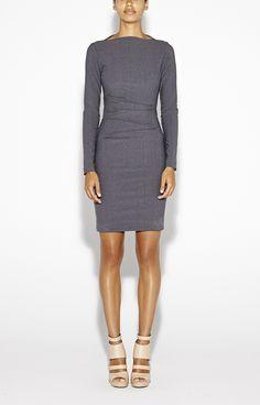 Quinn Bistretch Suiting Dress - Artelier