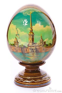 Faberge Egg Beautiful painting on this Egg, Fabrege Eggs, Egg Art, Egg Shape, Russian Art, Egg Decorating, Oeuvre D'art, Easter Eggs, Art Decor, Saint Petersburg