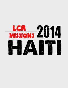 2014 Haiti Mission Team Tshirt (front)