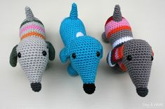 Dots & HOOK: Free patterns