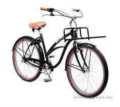 Johnny Loco Dutch Delight L bicicleta cruiser urbanita barra baja - labiciurbana.com bicicletas urbanas y de paseo