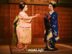 Кимоно для гейши и майко http://miuki.info/2010/11/kimono-dlya-gejshi-i-majko/