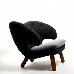 Pelican chair by Finn Juhl.
