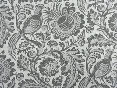 Williamsburg Waverly fabric. Tucker Resist in Silver. Click or Copy to purchase by the yard: https://1502fabrics.com/product/pk-lifestyles-tucker-resist-silver/