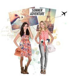 """myduza's summer adventure"" by myduza-and-koteczka on Polyvore"