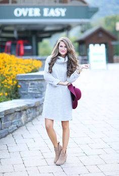 The Cutest Sweater Dress for $35
