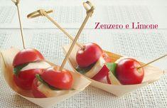 BOCCONCINI di CAPRESE | ricetta finger food