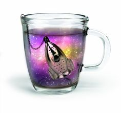 #Teeei Tee Ei Rakete #Rocket Tea Infuser Edelstahl Kette silber im Elbmöbel Online Shop