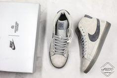 Reigning Champ x Nike Blazer SB Low 3M In Grey For Sale