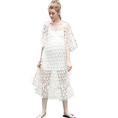 CCloud Lace Maternity Summer Dress Vintage Women Dress fo... https://www.amazon.com/dp/B01GY41APO/ref=cm_sw_r_pi_dp_aFuGxbZBAGFCV  Pretty for maternity pic, but those shoes would have to go. Barefoot would be better.