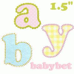 New BABYBET alpha SET @ Planet Applique