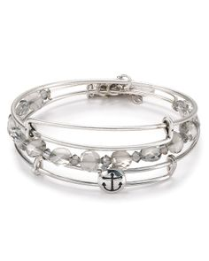 Alex and Ani Exclusive Anchor Bracelets, Set of 3 | Bloomingdale's