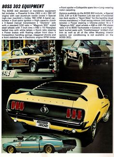 Classic Car News Pics And Videos From Around The World Ford Mustang 1969, Mustang Boss 302, Mustang Cars, Car Ford, Ford Gt, Ford Mustangs, Classic Mustang, Ford Classic Cars, Volkswagen