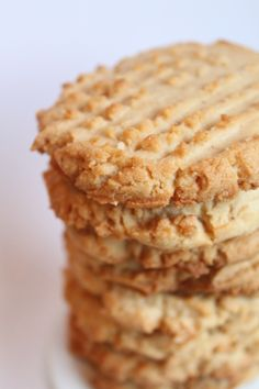 Bet You Can't Eat Just One: Classic Peanut Butter Cookies