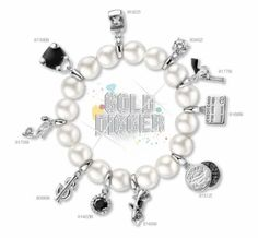Charming by Ti Sento bracelet Gold Digger